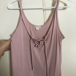 aeropostale lace up summer tank.